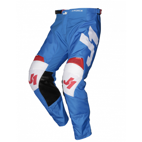 675002001200130 JUST1 J-FORCE Pantaloni Terra Blue - Red - White 30 8050038560986 JUST 1