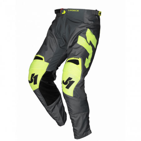 675002003200138 JUST1 J-FORCE Pantaloni Terra Dark Grey - Fluo Yellow 38 8050038561235 JUST 1