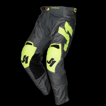 675002003200140 JUST1 J-FORCE Pantaloni Terra Dark Grey - Fluo Yellow 40 8050038561242 JUST 1