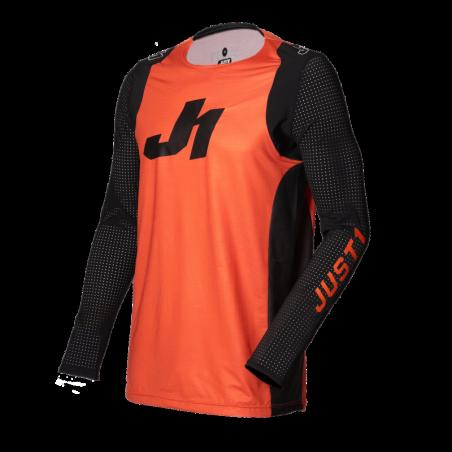 695001005100105 JUST1 Maglia J-FLEX Aria Orange - Black L 8053288718060 JUST 1