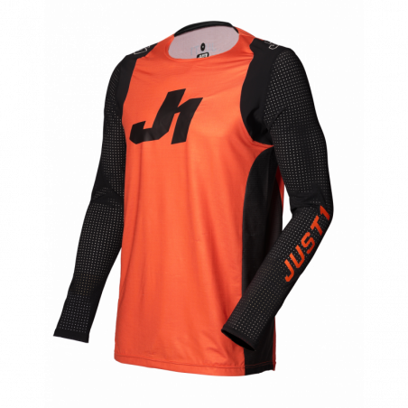 695001105100113 JUST1 Jersey J-FLEX Aria Orange - Black YS 8053288718008