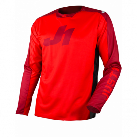 695003007100204 JUST1 Maglia J-FORCE MTB/LS Act Red M 8053288719203 JUST 1