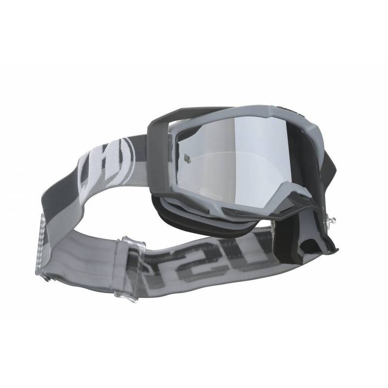 JUST1 GOGGLE IRIS TWIST GREY TU