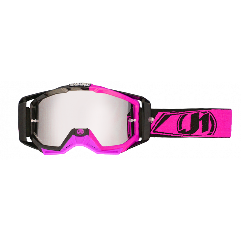 JUST1 Goggle Iris Carbon Fluo Pink TU