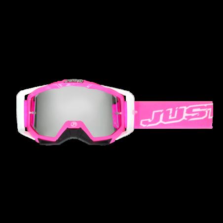 JUST1 Goggle Iris Neon Pink TU