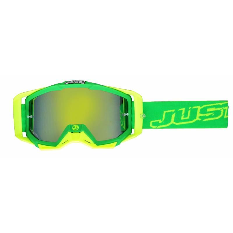 JUST1 Goggle Iris Neon Green/Yellow TU