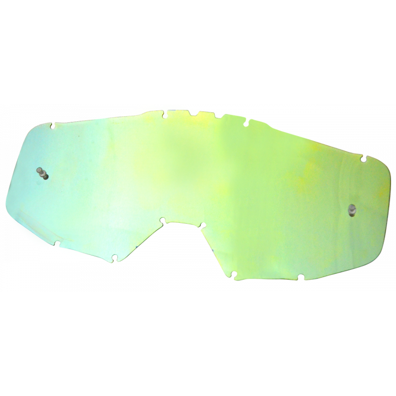 JUST1 Goggle IRIS Mirror Lens gold MADE IN ITALY TU