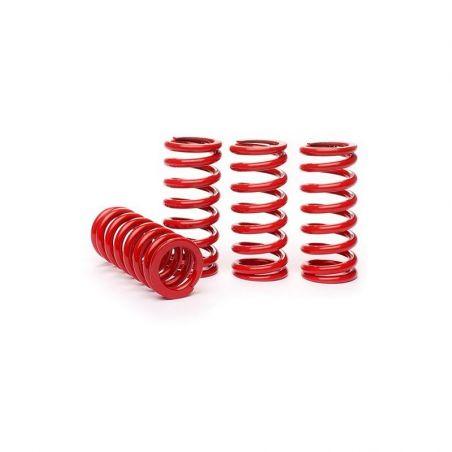 Molle per monoammortizzatori K-TECH SUSPENSION SUZUKI RM 125 1998-2010 Rosso : 45 N/mm