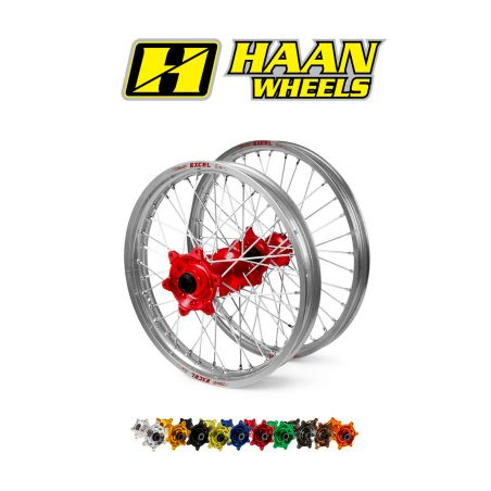 "Ruota completa HAAN WHEELS KTM 990 Adventure 2006-2013 cerchio: Argento  17"""
