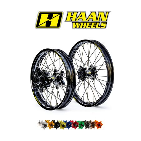 Ruote complete HAAN WHEELS HUSQVARNA 701 Enduro 2016-2020 cerchio: Oro o Nero