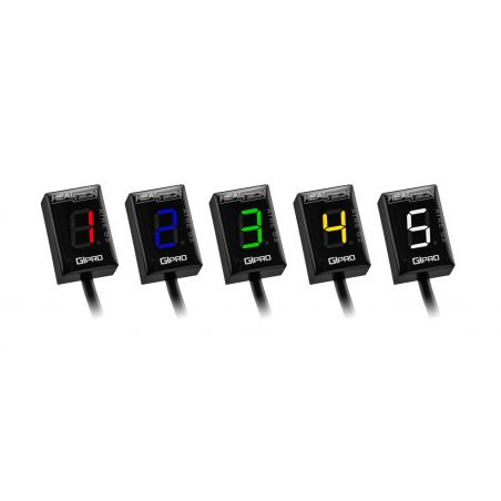 HT-GPAT-S03 GiPro ATRE G2 - Contamarce + elimin. ritardo anticipo SUZUKI SV 650 N 650 2003-2010- bianco