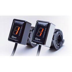 HT-GIPRO-M GIpro Mount -  kit supporti manubrio APRILIA Tuono R 1000 2003-2010- cromato