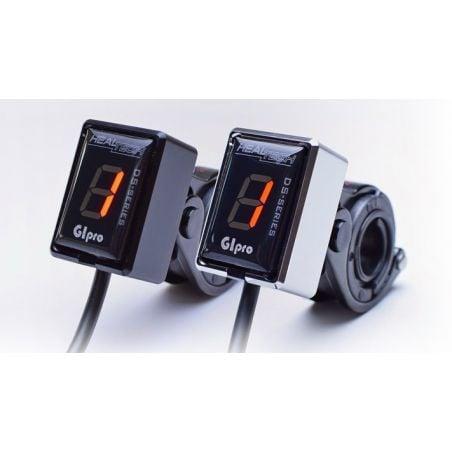 HT-GIPRO-M GIpro Mount -  kit supporti manubrio TRIUMPH Thruxton 800 2001-2007- nero