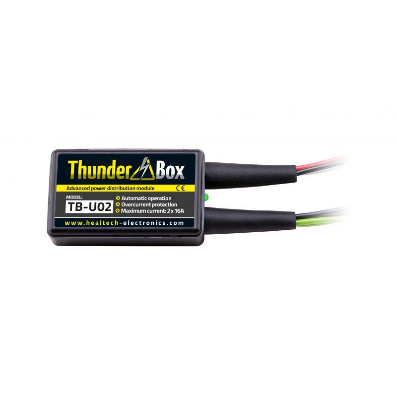 HT-TB-U0x Thunder Box - Hub Alimentazione Accessori HONDA Integra 750 DCT ABS 750 2014-2020- 1 attacco multiplo x 16 Amp