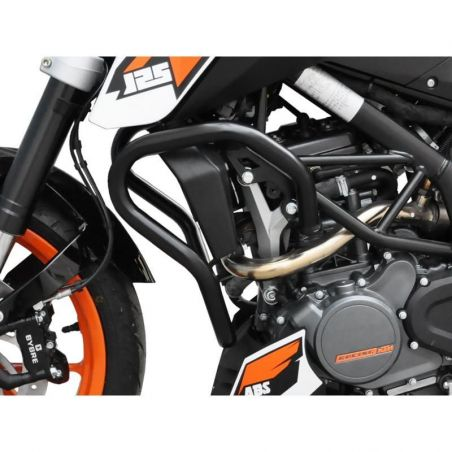 Z10001940 Zieger - Paramotore KTM Duke 125 125 2011-2016 nero