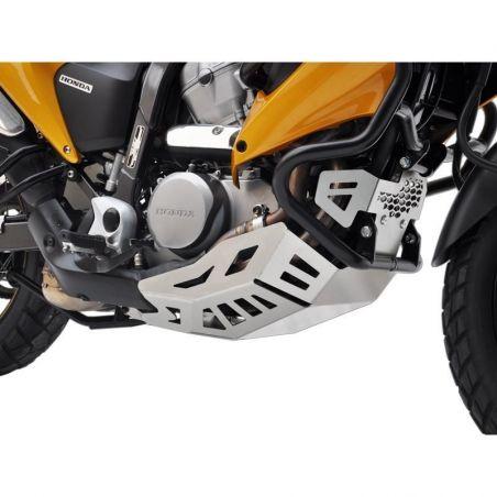 Z10001972 Zieger - Piastra Paramotore HONDA Transalp 700 700 2008-2013 argento