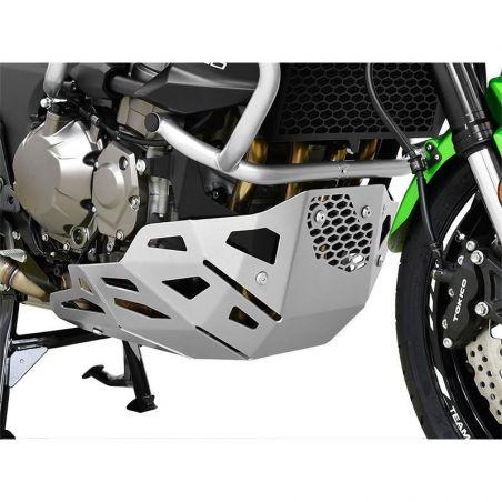 Z10003051 Zieger - Piastra Paramotore KAWASAKI Versys 1000 1000 2015-2018 argento