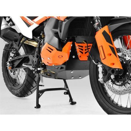 Z10006612 Zieger - Piastra Paramotore KTM Adventure 790 R 790 2019-2020 arancio