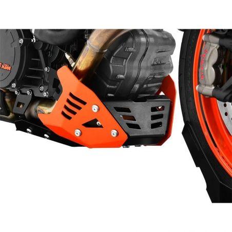 Z10004573 Zieger - Piastra Paramotore KTM Super Duke R 1290 1290 2014-2019 nero