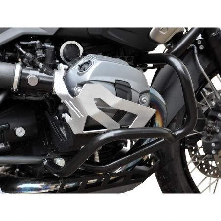 Z10001997 Zieger - Protezioni Cilindri BMW R NineT Scrambler 1200 2016-2020 argento