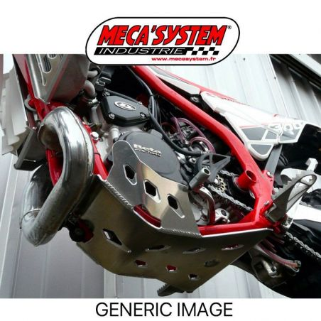 Piastra paramotore Enduro MECA SYSTEM HONDA CR 250 2003-2007