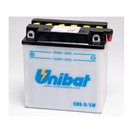 Batteria UNIBAT STANDARD PIAGGIO NRG 50 2002-2015