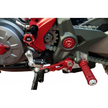 Kit leve cambio/freno posteriore  - SLIDE DUCATI  Rosso