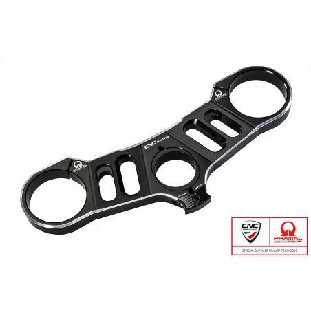 Piastre di sterzo - Superiore con Offset variabile Pramac Racing  Nero/Argento