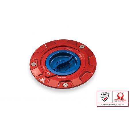 Tappo serbatoio carburante Pramac Racing Lim. Ed. DUCATI,MV AGUSTA  Rosso/Blu