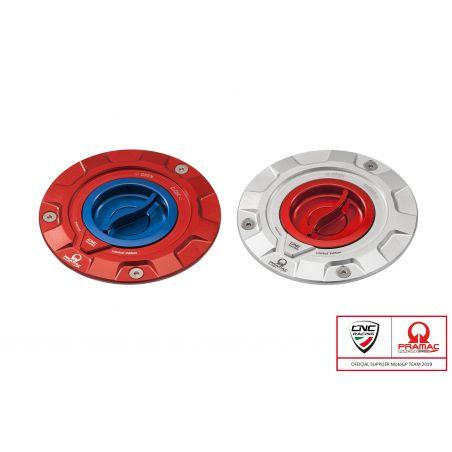 Tappo serbatoio carburante Pramac Racing Lim. Ed. Argento/Rosso