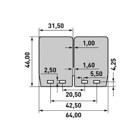 per pacchi lamellari V-FORCE4 BETA Xtrainer 250 2018-2021