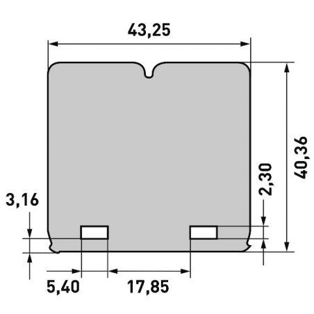 per pacchi lamellari V-FORCE3 HONDA CR 85 2003-2007