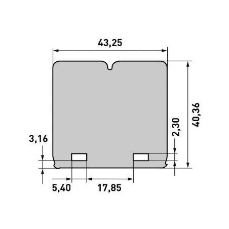 per pacchi lamellari V-FORCE3 KTM 85 SX 2008-2021