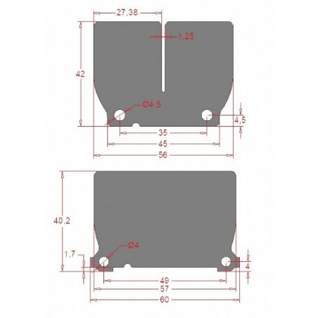 per pacchi lamellari V-FORCE4 HUSQVARNA 125 TC 2020-2021