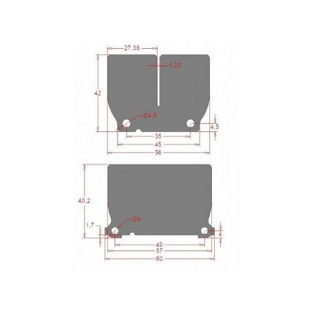 per pacchi lamellari V-FORCE4 KTM 250 EXC 2020-2021