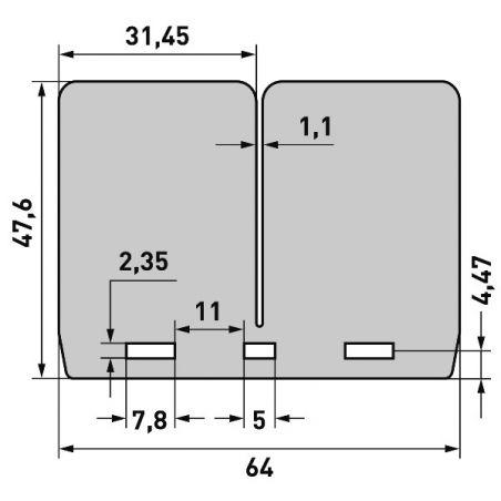 per pacchi lamellari V-FORCE3 HONDA CR 250 1986-2004