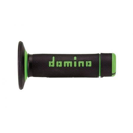 Manopole DOMINO Cross  Nero/Verde