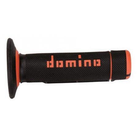 Manopole DOMINO Cross  Nero/Arancione