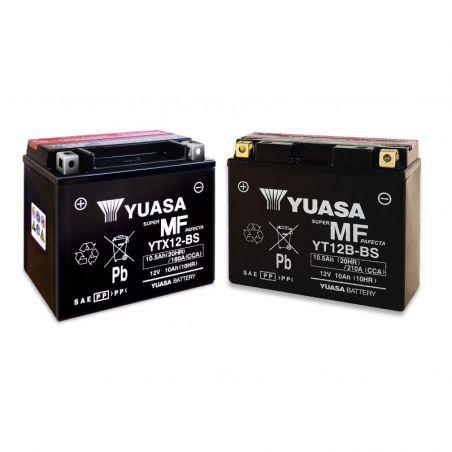 Batterie YUASA KAWASAKI ER-6 650 2006-2016 YTX12-BS/CBTX12-BS Ah10