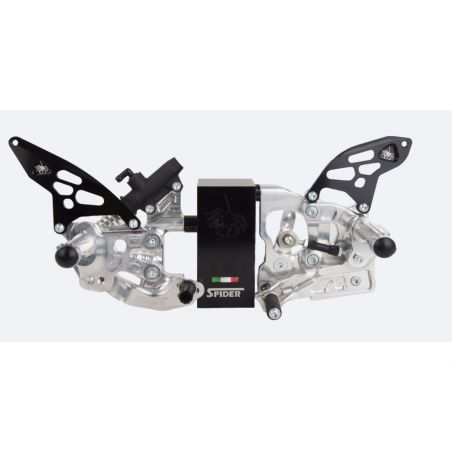 Footrests Spider for Ducati...