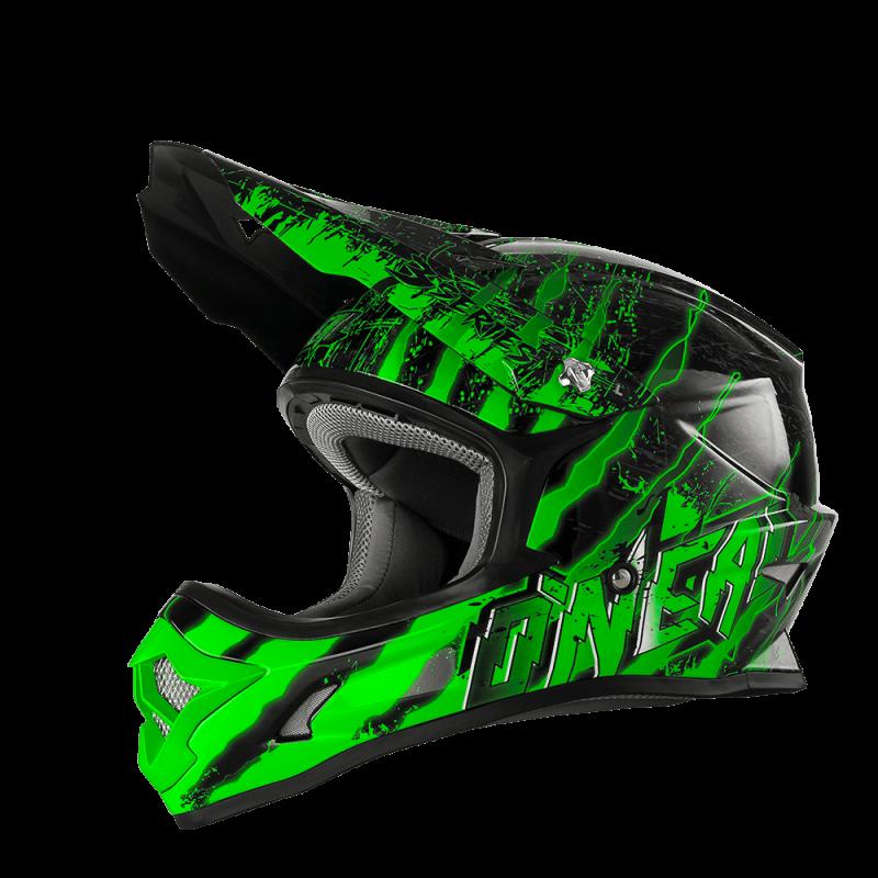 3SRS Casco MERCURY black/green