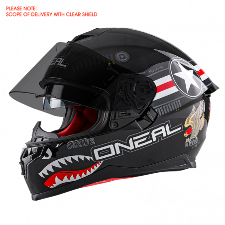 CHALLENGER Casco WINGMAN black