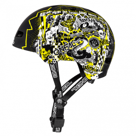 DIRT LID ZF Casco RIFT yellow