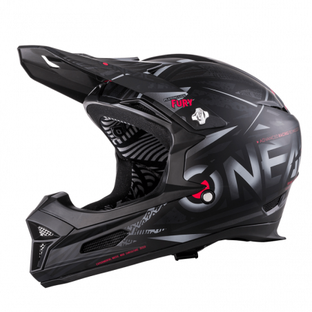 FURY RL Casco SYNTHY black