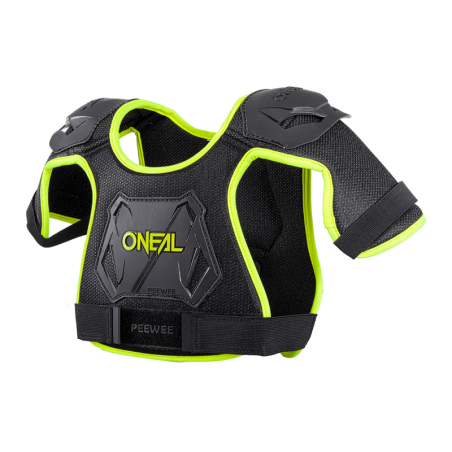 PEEWEE Chest Guard neon yellow