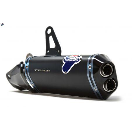 D18409400INA Scarico Termignogni Racing Ducati Pangiale V4 S R D18409400INA Black Edition + Filtro
