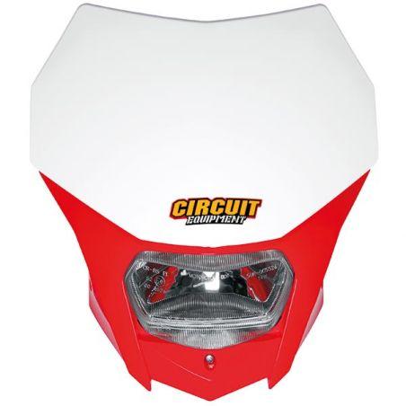 PORTAFARO BAGUS WHITE/RED HONDA LED (Rif.CIRCUIT: HL022-2A2)