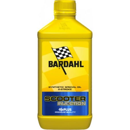 BARDAHL OLIO MOTORE 2T SCOOTER INJECTION (Cartone 20x1L)