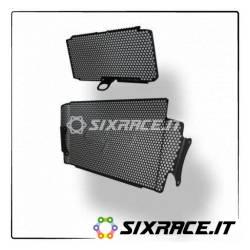 PRN012480-012481-02-29187 - Ducati Multistrada 1200 S radiator protection grille set 2015+ -